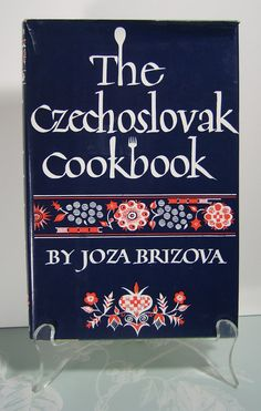 THE CZECHOSLOVAK COOKBOOK  1965 c  Very Good by BunnysLuck on Etsy, $10.00