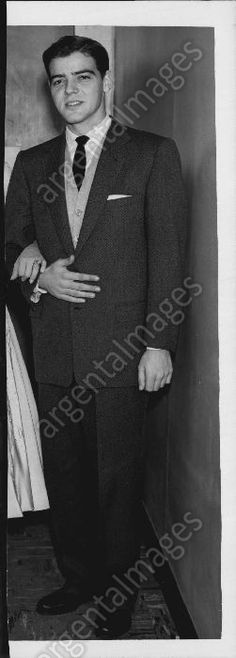 NICK CLOONEY, GEORGE CLOONEY FATHER IN 1952