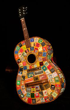 Matchbook Guitar artwork