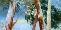 """View From my Window"", Pat Meras, Pastel, 12.5 x 6.5"