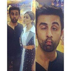 Snapped! Ranbir Kapoor and Deepika Padukone during the promotions of 'Tamasha'