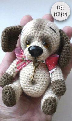 Mesmerizing Crochet an Amigurumi Rabbit Ideas. Lovely Crochet an Amigurumi Rabbit Ideas. Crochet Dog Patterns, Amigurumi Patterns, Amigurumi Doll, Doll Patterns, Knitting Patterns, Knitted Animals, Little Doll, Stuffed Animal Patterns, Crochet Dolls