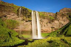 Iceland Collection Seljalandsfoss Waterfall 21 - Van-Go Paint-By-Number Kit