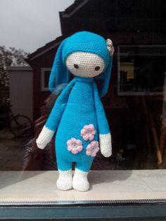 RITA the rabbit made by Anita F. / crochet pattern by lalylala