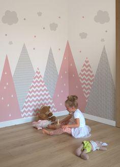 Childrens Room Decor, Baby Room Decor, Nursery Room, Girl Room, Kids Bedroom Designs, Baby Room Design, Baby Room Ideas Early Years, Baby Room Neutral, Decoration