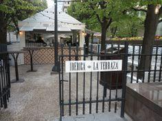 Ibérica La Terraza, Canary Wharf - The Bon Vivant Journal Al Fresco Dining, Gazebo, Spain, Outdoor Structures, Outdoor Decor, Restaurants, Blog, Terrace, Kiosk