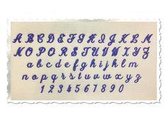 Small Mini Simple Script Machine Embroidery Font Monogram Alphabet - & Sizes by RivermillEmbroidery Embroidery Fonts, Embroidery Alphabet, Creative Embroidery, Small Letters, Letters And Numbers, Lower Case Letters, Script Alphabet, Monogram Alphabet, Applique Designs