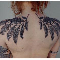 """(@blackworkers_tattoo) on Instagram: """"Tattoo by @wolfgangtattoo"""