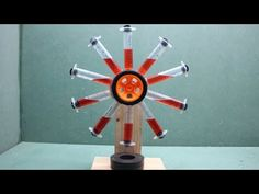 DC Motor Activity // Automatic Self Running Machine Using Magnets Heat Energy, Save Energy, Building A Wind Turbine, Tesla Technology, T Craft, Running Machines, Perpetual Motion, Science Projects For Kids, Anti Gravity