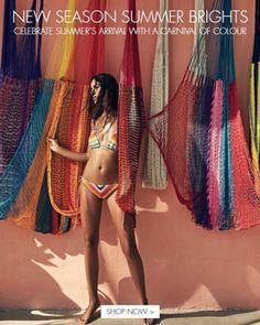 New Season Summer Brights at Beach Cafe Beach Cafe, Cover Up, Rainbow, Seasons, Crochet, Instagram Posts, Cloud, Swimwear, Summer