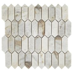 Daltile Restore Coastal Polished 11 in. x 11 in. x Marble Mosaic Floor and Wall Tile sq./ - The Home Depot - - Daltile Restore Coastal Polished 11 in. x 11 in. x Marble Mosaic Floor and Wall Tile sq./ - The Home Depot. Ceramic Mosaic Tile, Mosaic Wall Tiles, Marble Mosaic, Mosaic Glass, Glazed Ceramic, Splashback Tiles, Backsplash, Mosaic Pieces, Tile Projects
