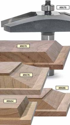 MLCS raised panel router bits are perfect for making classic raised panel doors and custom cabinetry using rail and stile and raised panel construction.
