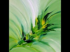 Green Explosion, abstract painting, Acrylic - YouTube