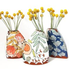3 Creative Tips Can Change Your Life: Old Vases Fun unique vases decoration.Metal Vases With Flowers white floor vases. Slab Pottery, Pottery Vase, Ceramic Pottery, Ceramic Clay, Ceramic Vase, Vase Transparent, Verre Design, Sculptures Céramiques, Clay Vase