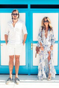 this emilio pucci dress :: Erica Pelosini & Louis Leeman Get Married