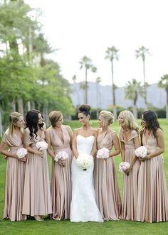Two Birds bridesmaid dresses; photo: Joielala via 100 Layer Cake