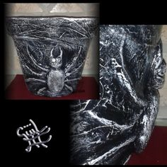 #macetas #flowerpots #paint #barro #terracota #decoración #handmade #hechoamano #art #artwork #güiliii