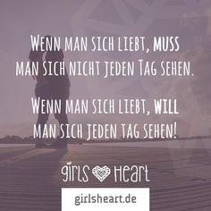 Für heute schon ein Date ausgemacht?  Mehr Sprüche auf: www.girlsheart.de Girls Heart, Love Pain, Love And Lust, Keep In Mind, Love Words, Life Lessons, Texts, Love Quotes, Mindfulness