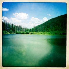 Rainbow Lake in Frisco, Colorado.