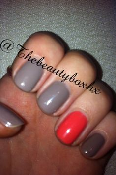 Jessica Manicure using Custom Nail Colours Flutter and Enchantress.