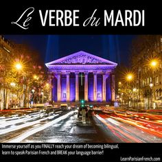 Bonjourrr, les adorables !  Do you want to feel more confident not just knowing what verbs to use in French but using them in all the tenses so that you can feel confident and proud when you speak with the natives and they're surprised seeing you doing so?  Let's practice some verbs for conversation, and get immersion-ready!  The verb of the week: AVOIR - to have (futur simple) Je aurai Tu auras Il aura Elle aura Nous aurons Vous aurez Ils auront Elles auront  Write your sentence in the…