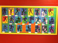 Ms.M's Blog: Student Art Feature: Strike a Pose