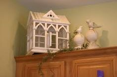 decorating above kitchen cabinets - Google Search
