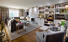 #CandiceTellsAll #WatchandPin After the remodeling by Candice, this living room is sleek and modern with a lot of natural light. http://www.hgtv.com/candice-tells-all/show/index.html?soc=pinterest