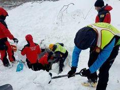 Survivors rescued from avalanche in a hotel Italy - YouTube  #Rescued #survivors #hotel #italy #avalanche #Rigopiano #snow