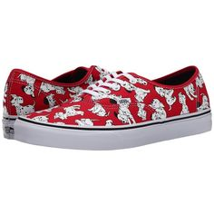 Vans Disney Authentic Donald Duck/Navy) Skate Shoes ($60) ❤ liked on Polyvore featuring shoes, sneakers, navy shoes, vans shoes, slim shoes, lace up sneakers and navy blue sneakers