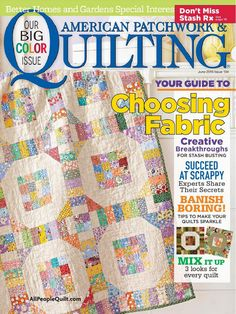 AMERICAN PATCHWORK & QUILTING - JUNE 2015