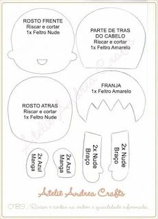 FETRogolik (Korean felt and accessories) Felt Dolls, Baby Dolls, Art For Kids, Crafts For Kids, Bear Felt, Doll Patterns, Creations, Clip Art, Manga