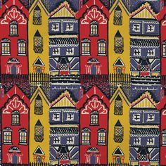 V Victoria Albert Museum > Main Section > Shop by product > Homeware > V 'Houses' Tea Towel