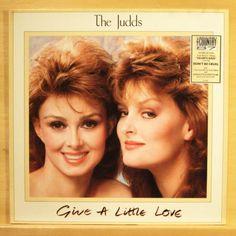 THE JUDDS - Give a little Love - near mint - Vinyl LP - Top Rare