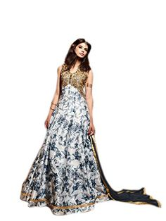 Shoppingover Indian Bollywood Party Wear Dress in Silk Fa... https://www.amazon.com/dp/B01LXCC6ST/ref=cm_sw_r_pi_dp_x_kGG.xbDT6SYYE