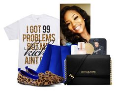 """""""99 Problems """" by trampoline-bootiee ❤ liked on Polyvore featuring Linda Farrow, Victoria's Secret, Essie, Michael Kors and Kaanas"""