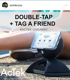 It's time for a #GIVEAWAY! Please follow us on Instagram and join our contest to win AcTek #bluetoothspeaker!