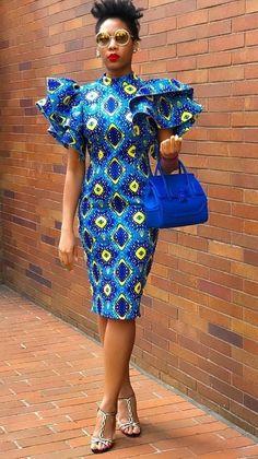 latest ankara styles 2019 for ladies:check out 50 + beautiful and stylish ankara. from Diyanu Previous latest ankara styles 2019 for ladies:check out 50 + beautiful and stylish ankara styles to rock your weekend African Fashion Ankara, African Inspired Fashion, Latest African Fashion Dresses, African Print Fashion, Africa Fashion, African Wear, African Attire, Ankara Dress Styles, African Print Dresses