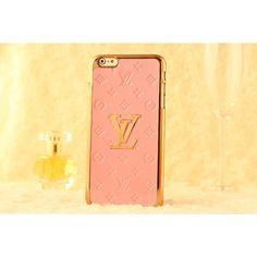 Luxury Louis Vuitton iPhone 6 / 6 Plus Cases - FASHION COMBINATIONS - Light Pink