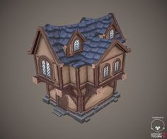 Low poly house by antonio-jn on deviantART