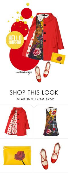 """CLUTCHES! Come & Play!!"" by stardustnf ❤ liked on Polyvore featuring Kate Spade, Etro and Loewe"