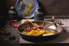 Mix of spices by Natasha Breen on Creative Market