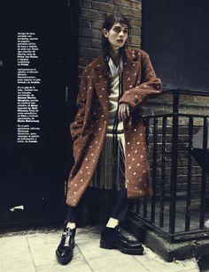 visual optimism; fashion editorials, shows, campaigns & more!: nouvelle vague: antonina vasylchenko by danilo giuliani for marie claire spai...