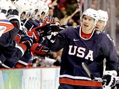 Zach Parise - Team USA