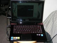 Lenovo Y40-70 black/red laptop!!! #Lenovo