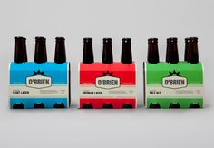 Rebellion Brewing engaged Studio Round to redevelop the identity and packaging of its leading gluten free beer product, O'Brien.