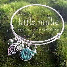 """33 Likes, 2 Comments - LittleMillieShop (@littlemillieshop) on Instagram: """"Hobbit Door Adjustable Bangle. Stackable with your other favorites or great on its own !!  Shop…"""""""