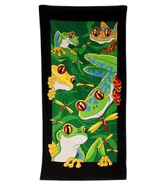 Wet Products Fun Frogs Towel at SwimOutlet.com