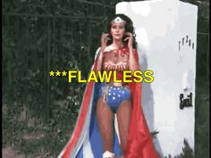 There's only one Wonder Woman in my book and she's Linda Carter! -The 40 best Wonder Woman Twirls-