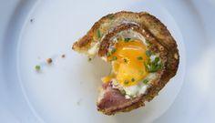 Bacon & Egg Tart